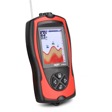 LUCKY FF1108-1C Wired&Wireless Fish Finder Waterproof Fishing sonor 100m Fish Detector Sea English/Russian Menu Fish Gear Pesca