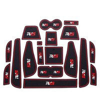 18Pcs Lot Car Interior Upholstery For Roewe RX5 Rubber Mat Car Accessories Non-Slip Mat Auto Accessories Interior