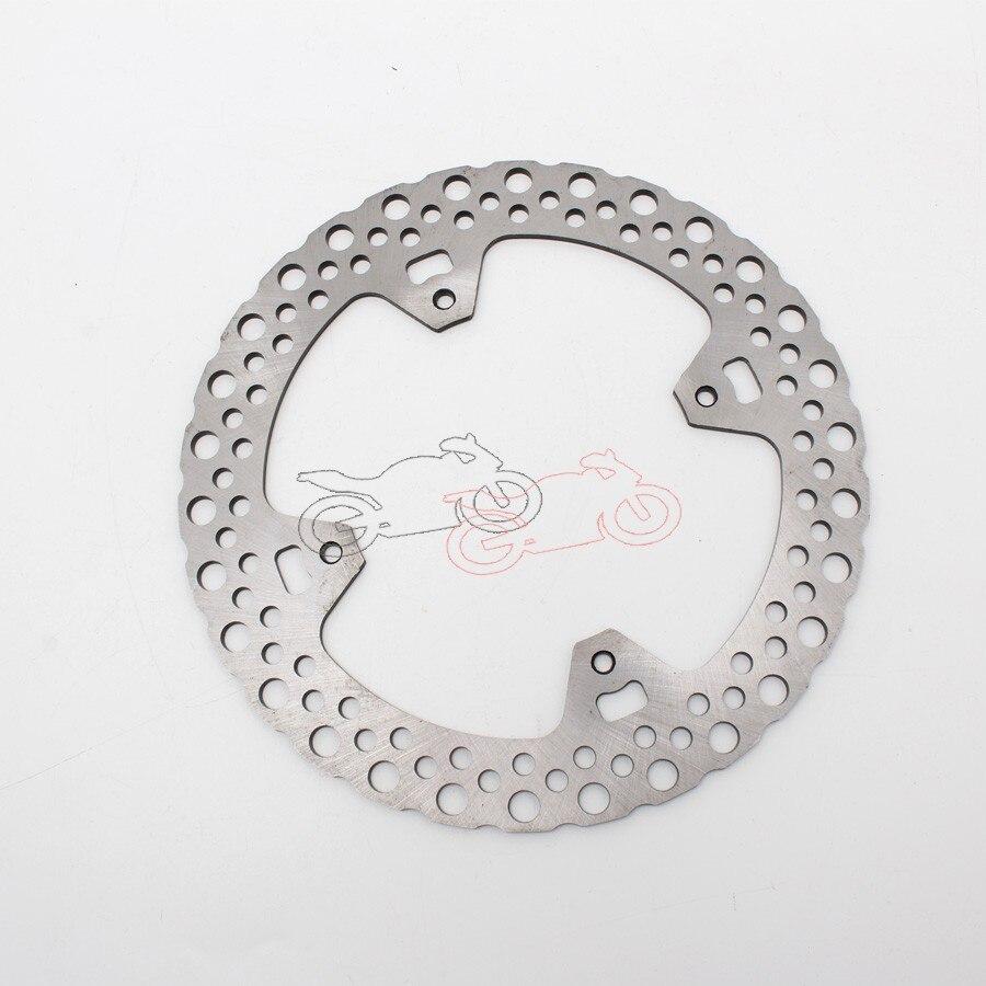 Для HONDA CRF450R (2002 2011) 10 09 08 07 06 05 04 мотоцикл задний Серебряный нержавеющий стальной тормозной диск ротора