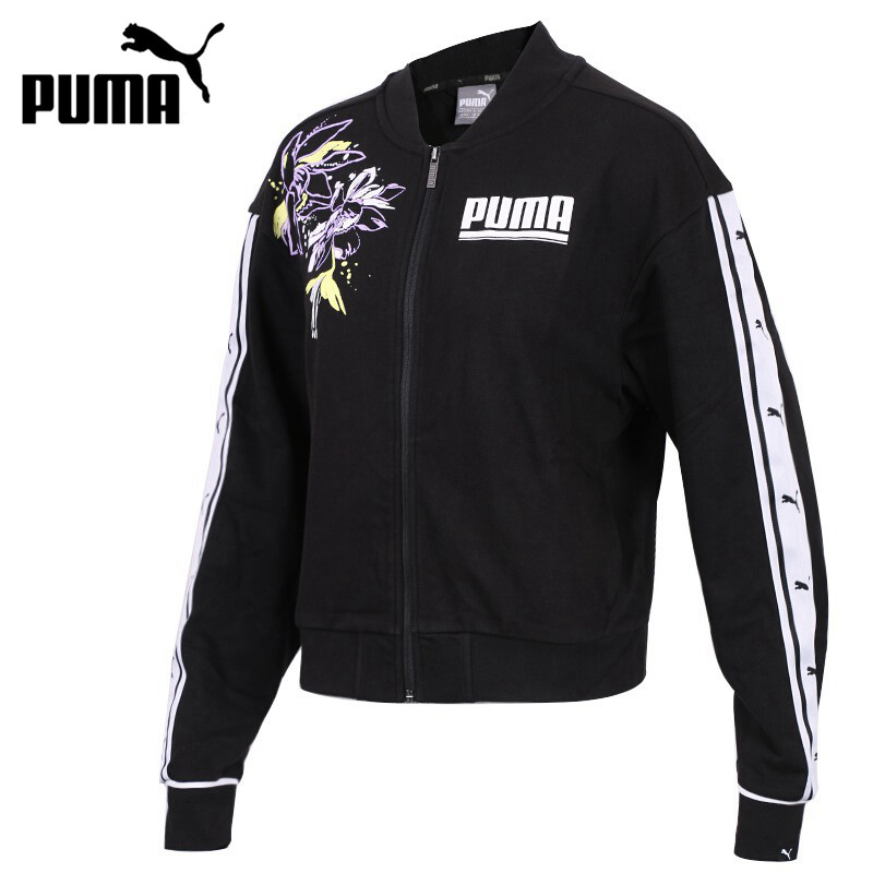 ab868f46b4764 US $73.8 18% OFF|Original New Arrival PUMA FLOWER Track Jacket Women's  jacket Sportswear-in Running Jackets from Sports & Entertainment on ...
