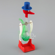Happy Retro Glass Drinking Bird Duck Bobbing Dippy Lucky Toy Einstein Novelty