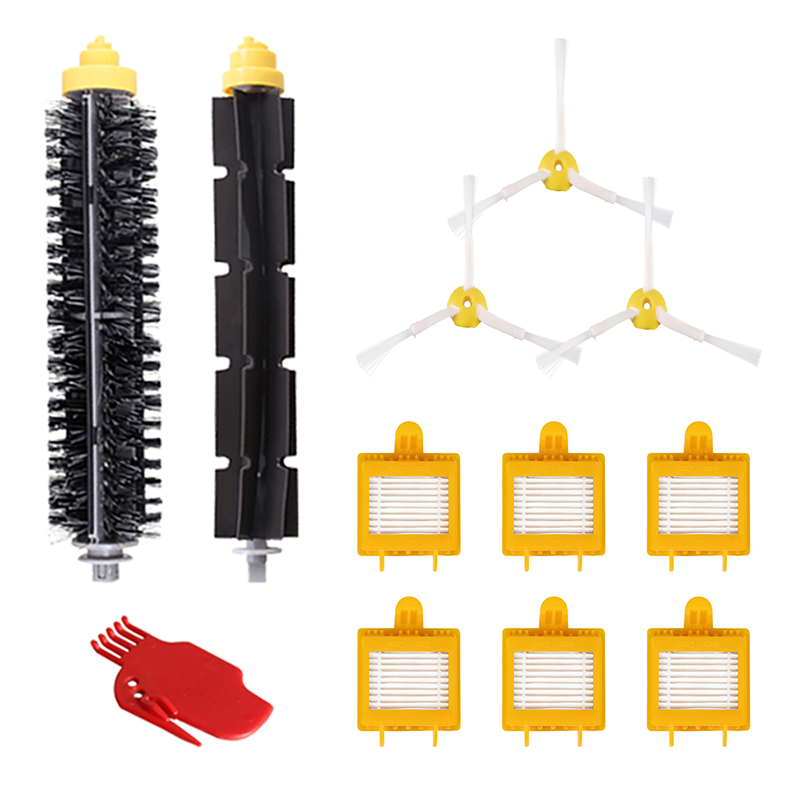 Side Brush 6-Armed For iRobot Roomba 700 Series 760 770 780 Vacuum Cleaner Replacement Parts Accessories new brush 4 x filter 3 armed side kit for i robot roomba 700 series 760 770 780