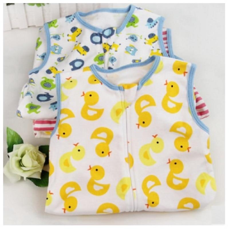 Giol-Me-Num-Summer-Newborn-sockpuppet-Sleepsacks-Cotton-0-18months-baby-sleeveless-cartoon-sleeping-bag-baby-vest-sacks-77X45cm-1