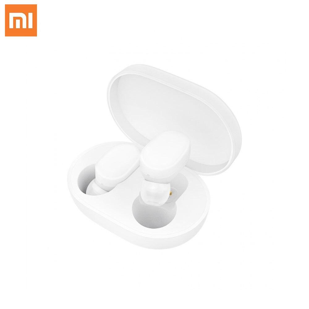 Xiaomi TWS AirDots Bluetooth Kopfhörer Jugend Version Stereo Bass BT 5,0 Kopfhörer Mic Freihändiger Ohrhörer AI Control