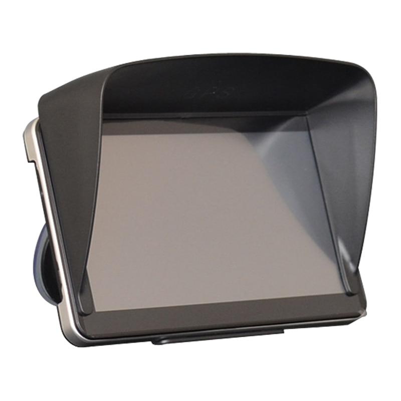 Espeeder 1 peça gps acessórios de navegação 7 Polegada gps universal sunshade sol sombra tela gps viseira capa bloco