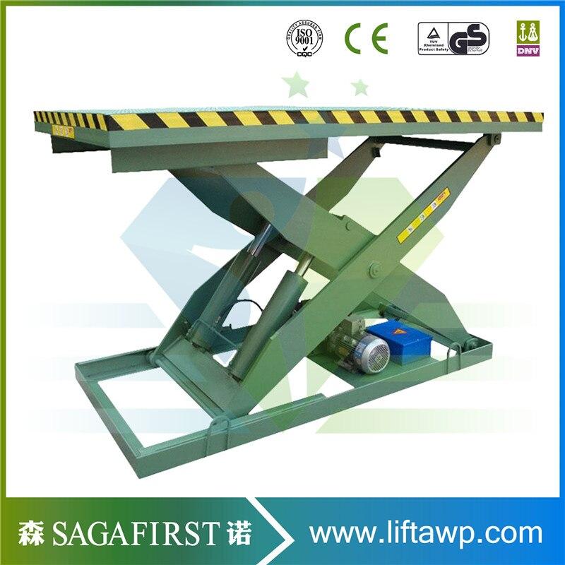 3000-5000kg Heavy Load Hydraulic Scissor Lift With Custom Make