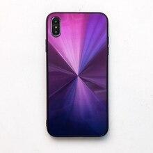 Colorful Gradient CD Print Phone Case for IPhone 7 8 6 6s Plus X XR 10 XS MAX 7plus 8plus 6plus Back Cover