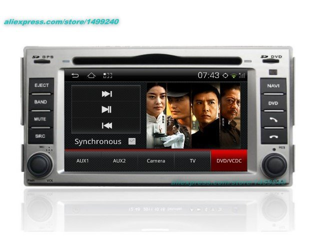 For Hyundai Santa Fe 2006~2011 - Car Android GPS Navigation Radio TV DVD Player Audio Video Stereo Multimedia System yessun android car navigation gps for hyundai santa fe 2006 2012 audio video hd touch screen stereo multimedia player no cd dvd