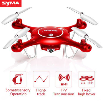 SYMA X5UW RC Drone With WiFi HD Camera FPV Somatosensory Operation RC Helicopter Headless Quadcopter Outdoor Dron For Kid Gift