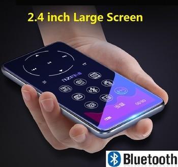 RUIZU D16 reproductor de Bluetooth MP4 pantalla de 2,4 pulgadas FM Radio grabadora de voz E-Book reproductor de Audio portátil Bulit-in altavoz