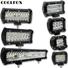 300W 120W 72W 36W 12 Volt Led Bar Werklamp Lightbar Led Ramp Spot Offroad Work Light Worklight Driving Lights Auto Accessories