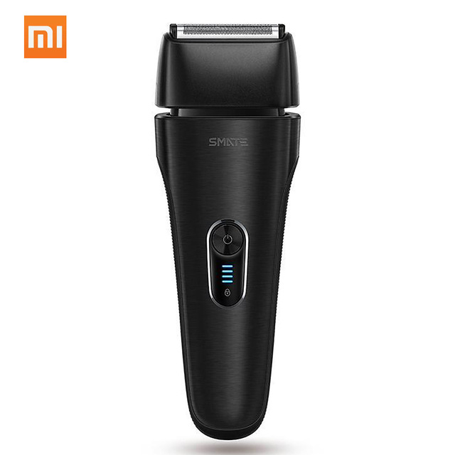 Xiaomi Mijia Smate Electric Men Razor Reciprocating 4 Blade Electric i-Shaver 3 Minute Fast Charge 4-Shaver Dry/Wet Waterproof runwe rs726 reciprocating electric shaver for men strong power fast close shaver razor 2017 new arrival blue body design shaver