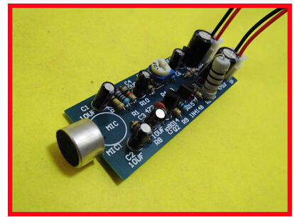 Free Shipping! 3pc Megaphone preamp module electronics production suite microphone volume amplifier module