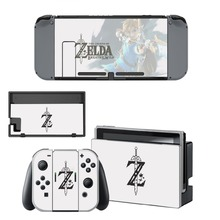 The Legend of Zelda Decal Nintendo Switch NS Console + Joy-Con Controller + Dock Station Protective Skin