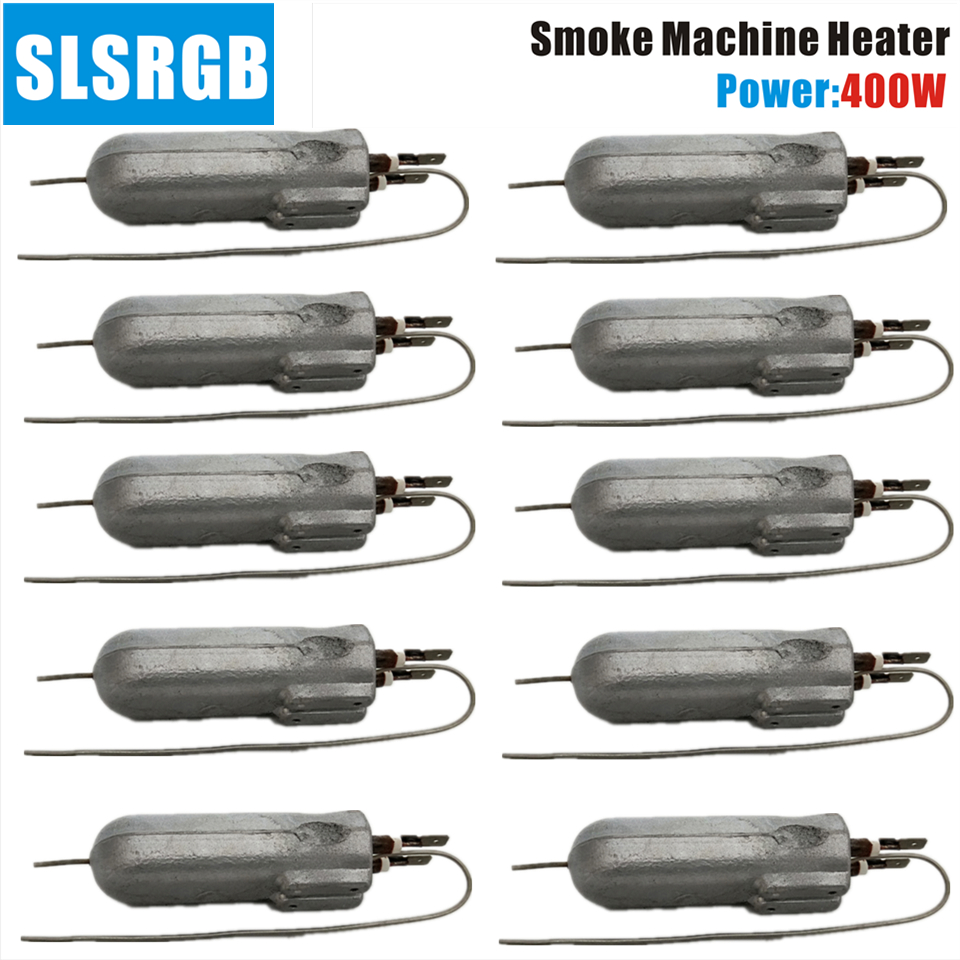 10PCS/LOT 400W LED Fog Machine DMX Pro Vertical Smoke Machine Professional Fogger Hazer Heater Stage Show Lighting Accessories
