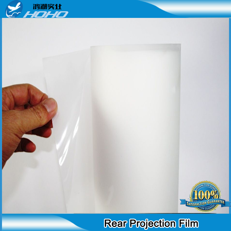 white window filmm holographic rear projection film for window shop display 3D rear projector film 60