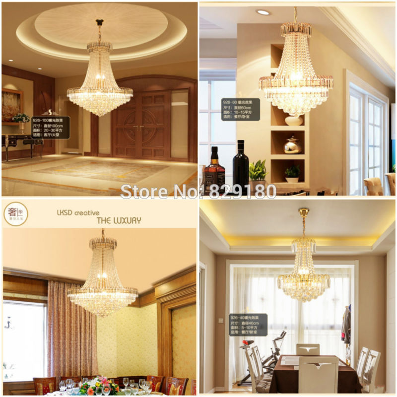 Us 388 69 Official Store K9 Crystal French Empire Crystal Chandelier Chandeliers Lighting D600 H700mm In Chandeliers From Lights Lighting On