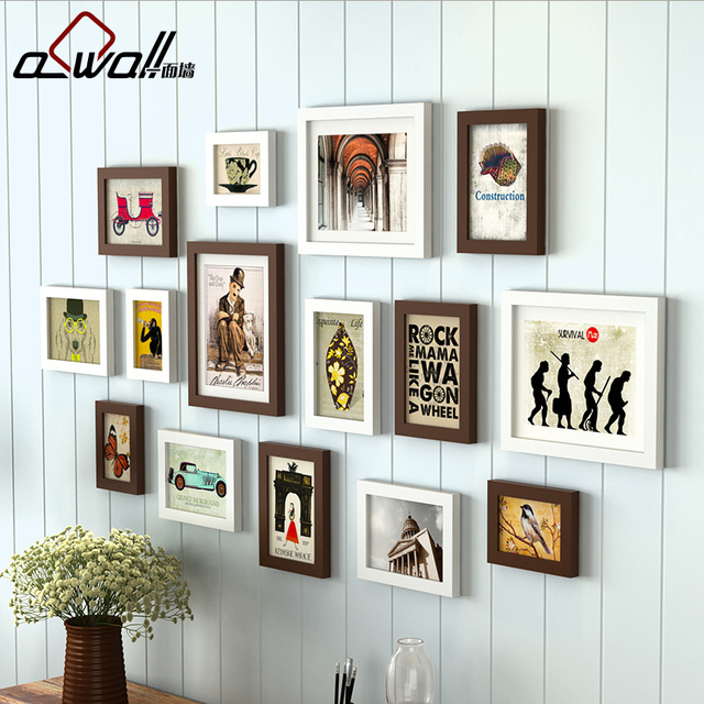 Photo Frame For Picture High Quality Colored Picture Frames 15Pieces ...