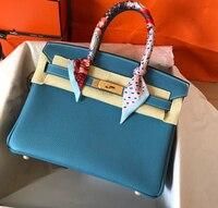 100% натуральная кожа роскошные сумки женские сумки дизайнерские сумки через плечо для женщин известный бренд подиум Бесплатная доставка 30 с