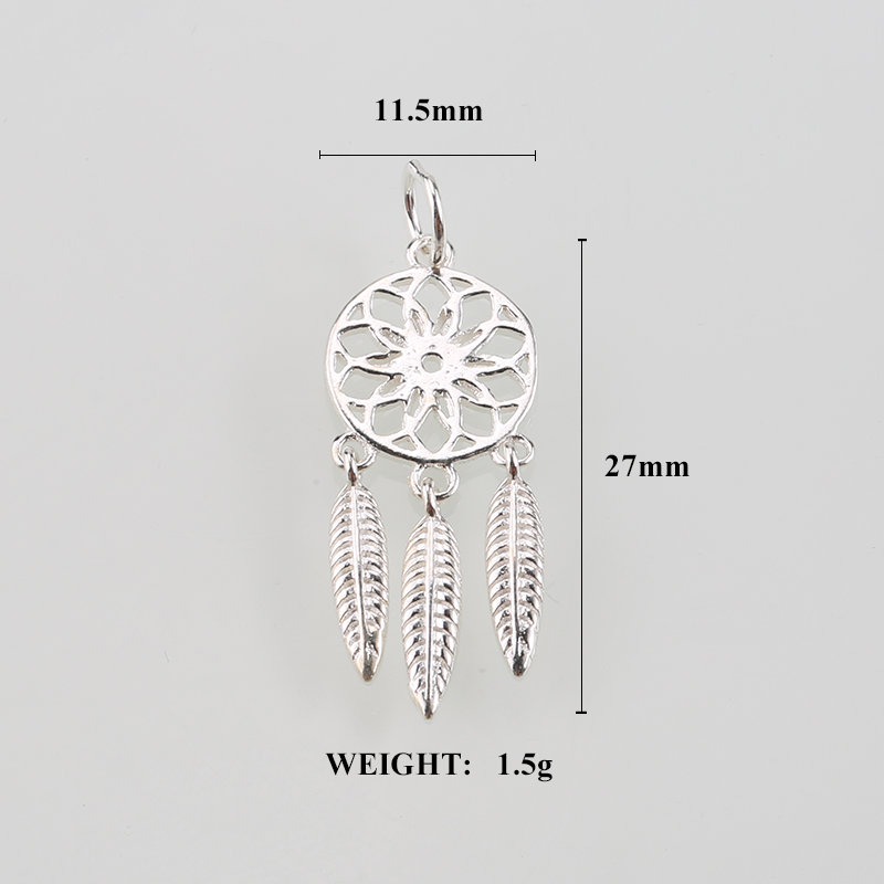 11.5x27 χιλιοστά ασήμι 925 ονειροπαθής - Κοσμήματα μόδας - Φωτογραφία 3