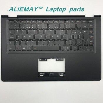 цена на Laptop parts for LENOVO YOGA 2 13 Yoga2-13  BLACK Palmrest  with Backlit Sweden SW1  Keyboard 90205189