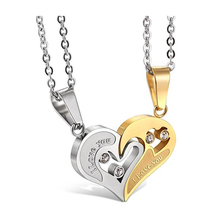Stainless Steel Couple Necklace