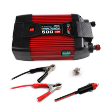 500W Car Power Inverter DC 12V TO AC 220V Modified Sine Wave Converter Adapter with USB Car Charger for Notebook Laptop very beautiful power inverter dc 12v to 220v ac car inverter outlets with usb port charger travel portable converter for laptop