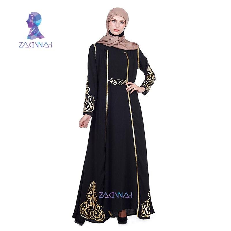 ZK004 Zakiyyah Fashion Muslim Islamic Abaya Muslim Women's Abaya