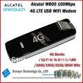 Nueva Llegada Original Desbloquear LTE FDD 100 Mbps Alecatel W800 LTE 4G Módem WiFi Y 4G LTE USB Dongle