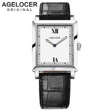 AGELOCER Switzerland Watches Women Luxury Brand Watch Quartz Wristwatches Fashion Steel Dive 50m Casual Watch relogio