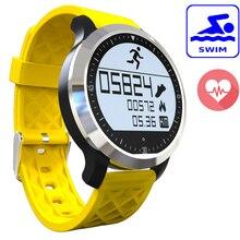Schwimmen Wasserdichte F69 Smart Uhr Pulsmesser Sport Intelligente Elektronische Uhr Smartwatch Fitness Tracker Pedometer
