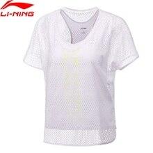 Li Ning 2018 Women Training T Shirt font b Fitness b font 87 Polyester 13 Spandex