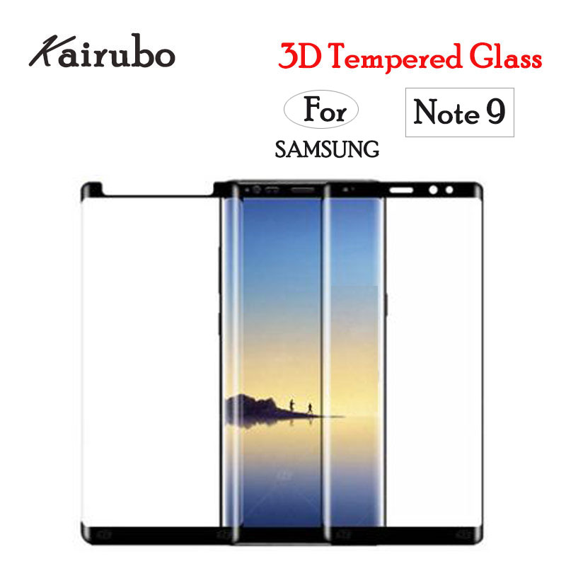 20Pcs 3D Curved Full Screen Protector For Samsung Galaxy Note 9 Tempered Glass For Samsung Galaxy
