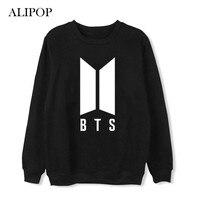 ALIPOP Kpop BTS Bangtan Boys Love Yourself Album Thin Hoodie Loose Hoodies Pullover Printed Long Sleeve