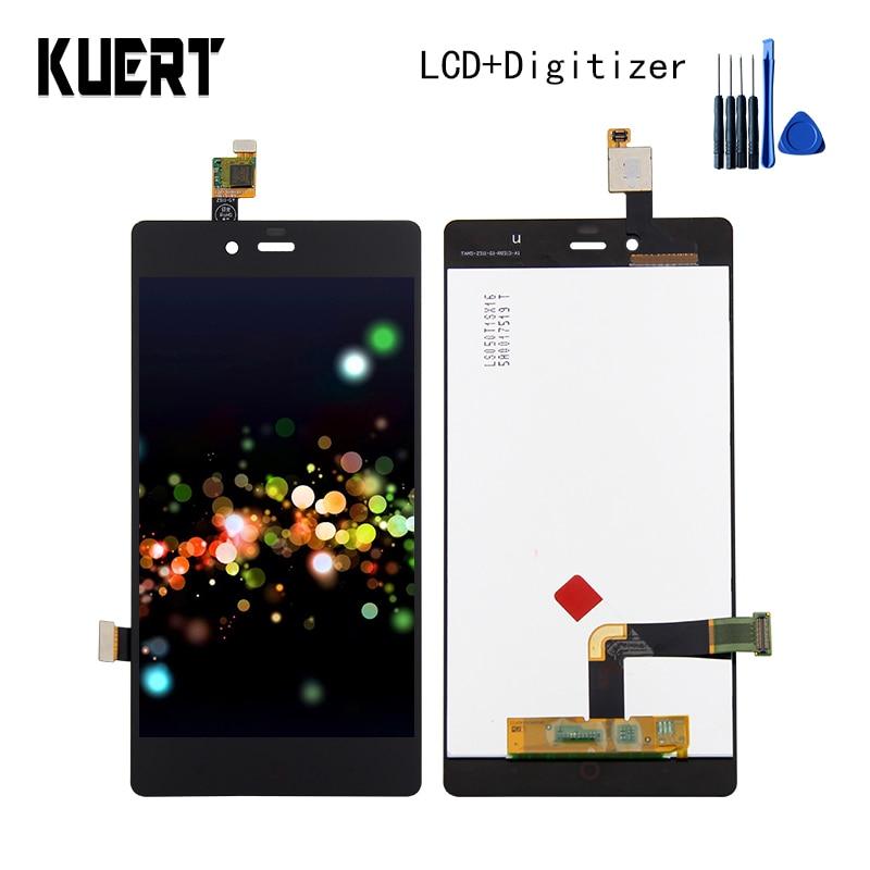KUERT High Quality For ZTE Nubia Z9 Mini Z9mini NX511 NX511H NX511J Touch Screen Digitizer LCD Display Assembly Free shipping