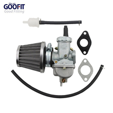 GOOFIT Carburetor for XR80 XR80R XR 80 Carb Assembly w/ Air Filter Fuel Group-5