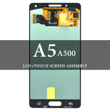 босоножки no 2015 20 stylenanda 2015 Super AMOLED For  A5 2015 A500 LCD Screen With Touch Screen No Dead Pixel Mobile Phone LCD For A5 2015 A500 LCD