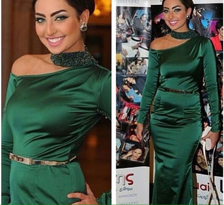 robe de mariee casamento 2018 New Green Neckline Beading Prom Evening celebrity gown mother of the bride Dress