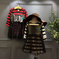 Children's wear 2016 new style autumn striped long sleeved T-shirt dress + collage Girl Dress Free Shipping
