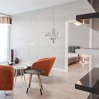 Avrupa Tarzı Avize Desen 3d Akrilik Ayna Duvar Çıkartmaları oda Ev Dekor Oturma Odası Yatak Odası Dekorasyon Duvar resmi R013