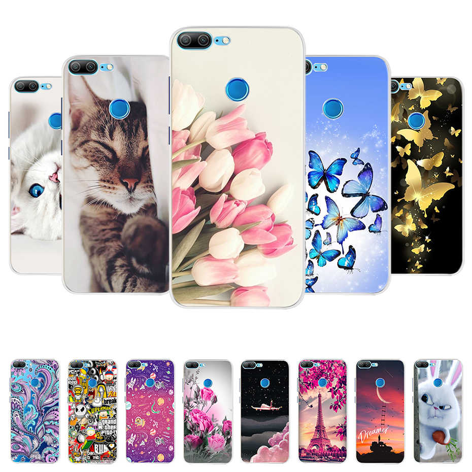 For Huawei Honor 9 Lite Case Cover Soft Silicone Cute Case For Honor 9 Lite Phone Case Back Cover Honor 9 Lite Case Coque Bumper
