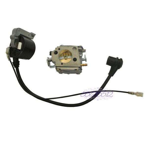 Carburetor Carb Ignition Coil Kit For HUSQVARNA 61 266 268 272 272XP ChainsawsCarburetor Carb Ignition Coil Kit For HUSQVARNA 61 266 268 272 272XP Chainsaws