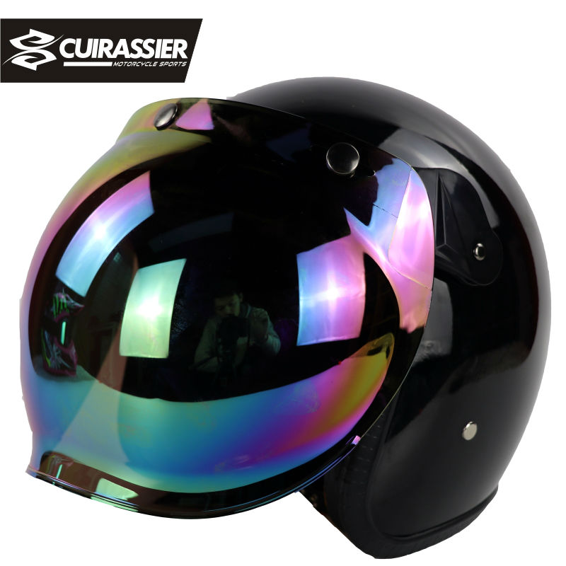 Cuirassier CH04 Protective Gears Motorcycle Helmet Road Full Face Capacete Motorbike Cascos Casque Moto Motocicleta Men Black lexin 2pcs max2 motorcycle bluetooth helmet intercommunicador wireless bt moto waterproof interphone intercom headsets
