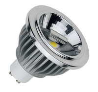 Brightness Adjustment Dimmable GU10 AR70 Spotlight Bulb Diameter 70mm LED Light Halogen 20 50 Watt Bulb