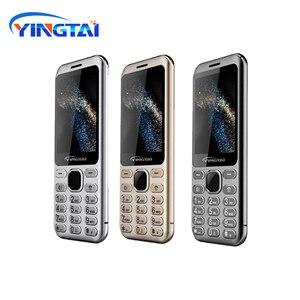 Image 2 - Nouveau modèle original YINGTAI S1 Ultra mince métal placage double SIM écran incurvé caractéristique téléphone portable Bluetooth téléphone portable daffaires