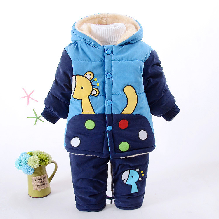 New Baby Boys Clothing Set Winter Warm Clothes Suit Giraffe Cotton Velvet Clothing Set Fashion Boy's Clothes Toddler 1-3 years festina часы festina 16190 9 коллекция 9