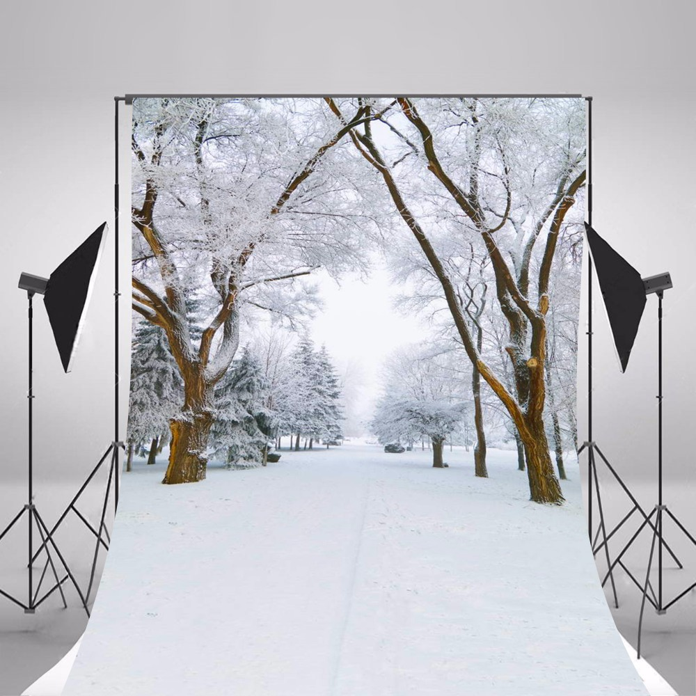 2017 Snow Scenic Photography Backgrounds Children Photo Backdrops Camera Fotografica Forest Snow Background Studio Props ashanks photography backdrops solid screen 1 8m 2 8m backgrounds porta retrato for camera fotografica photo studio
