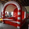 2016 personalizada de fábrica de PVC comercial inflatble tienda/tienda inflable stand para la venta