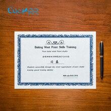 Золото/серебро Ретро штамповка Высококачественная пустая бумага/карты 15 листов/мешок А4 сертификат бумага для печати DIY для детей/сотрудников