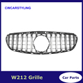 W212 GT R решетка для E-Class W212 2013-2015 сетки Гриль эмблемы сетки радиатора переднего бампера грили